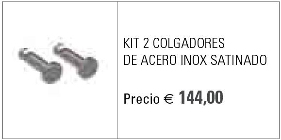 GIADA HORIZONTAL INOX SATINADO